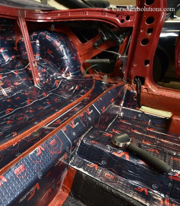 Sound Deadening Mat Example
