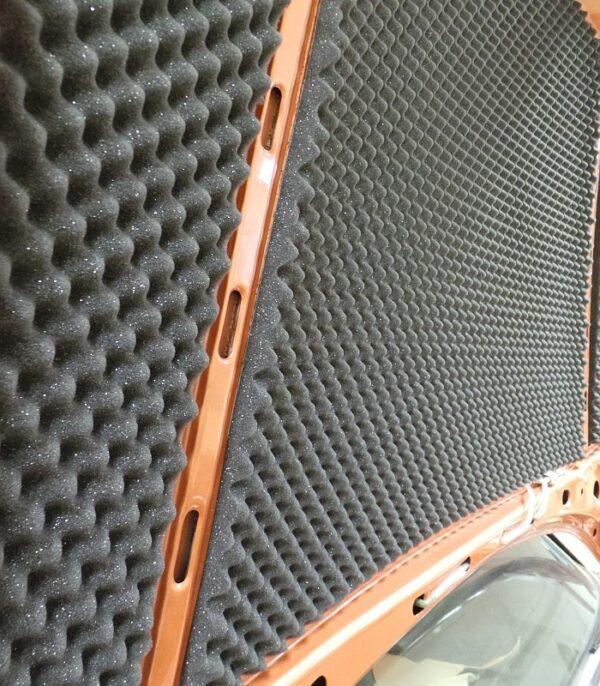 Fire Retardant Acoustic Foam Example