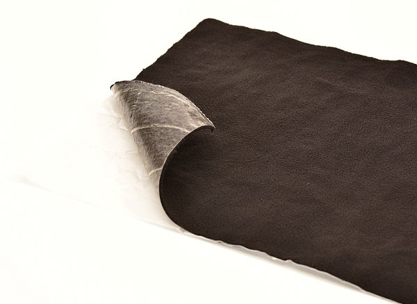 self-adhesive anti-squeak material for car upholstery sound proofing