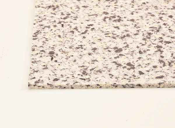 mix foam self adhesive sheet made from crushed pieces of high density foam
