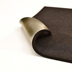black layer soundproofing material self adhesive sheets suitable for cars, vans and trucks