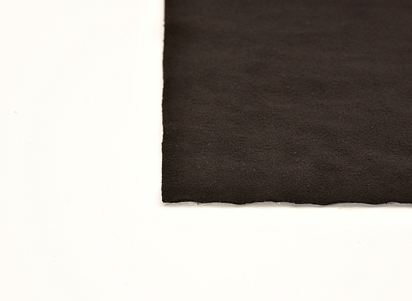 anti-squeak tape made from thin, black fabric for platic upholstery parts sound deadening